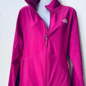 Northface Windwall Fuscia Pink Jacket